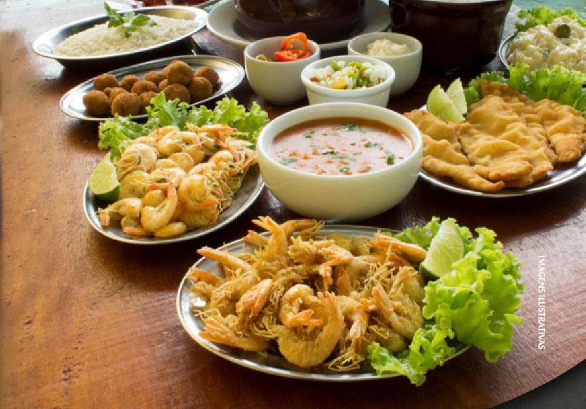Pratos típicos de Morretes Paraná