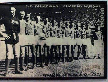 1.951-Palmeiras primeiro campeão mundial