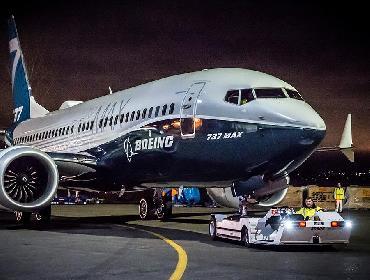 737 MAX da Boeing