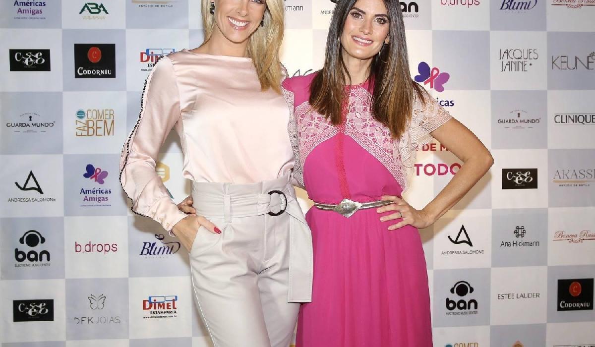 Ana Hickmann e Isabella Fiorentino comandam dia da beleza