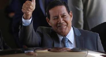 Mourão irá à Colômbia participar de reunião do grupo de Lima
