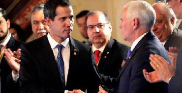 Vice dos EUA faz alerta a militares venezuelanos: \'Apoiem Guaidó