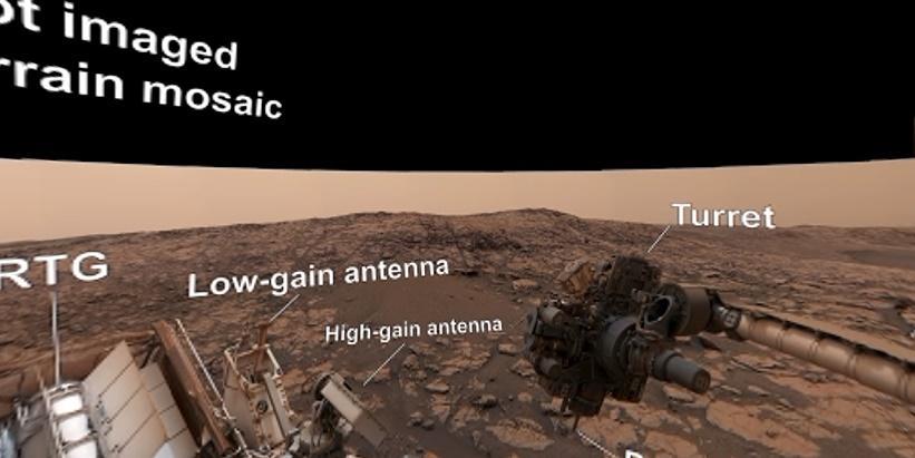 Marte em 360 graus