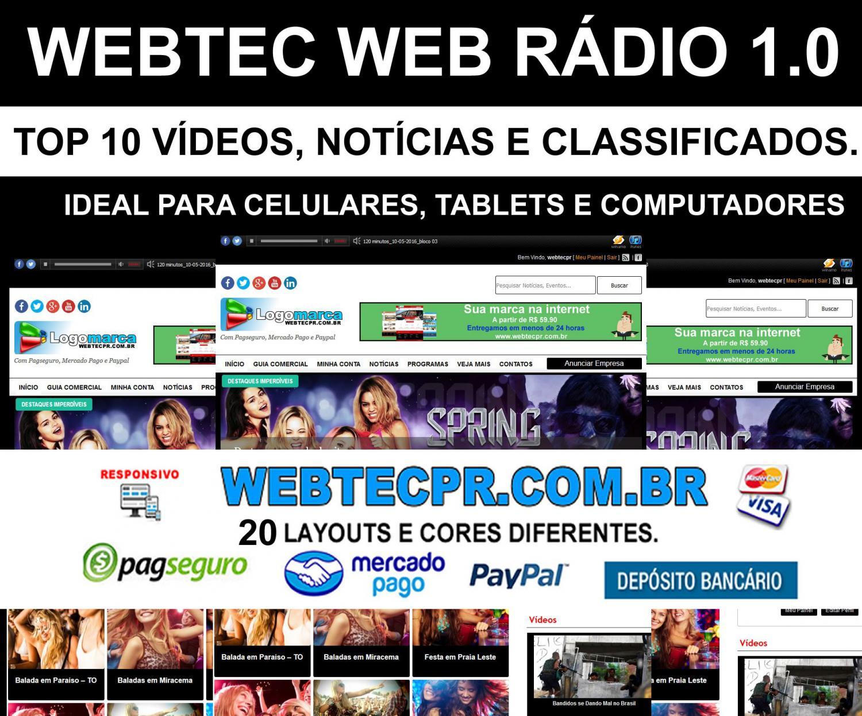Criação de sites para rádio