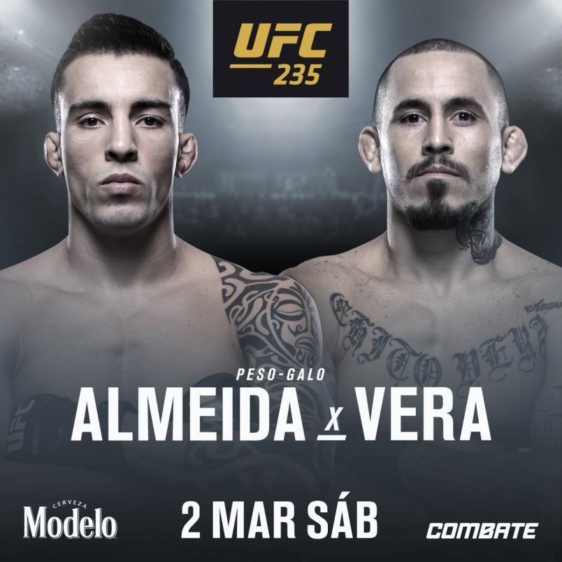 THOMINHAS ALMEIDA ENCARA MARLON VERA NO UFC 235