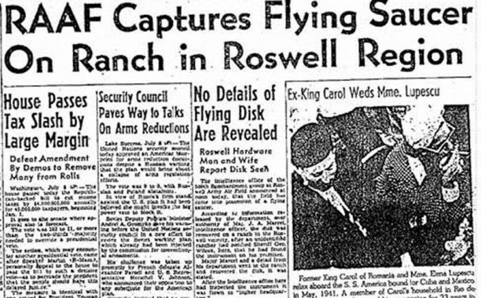 Caso Roswell-Saiba de tudo