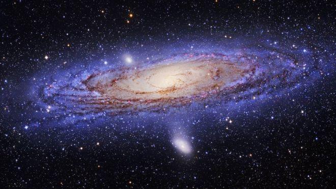 Galáxias que podemos observar a olho nú