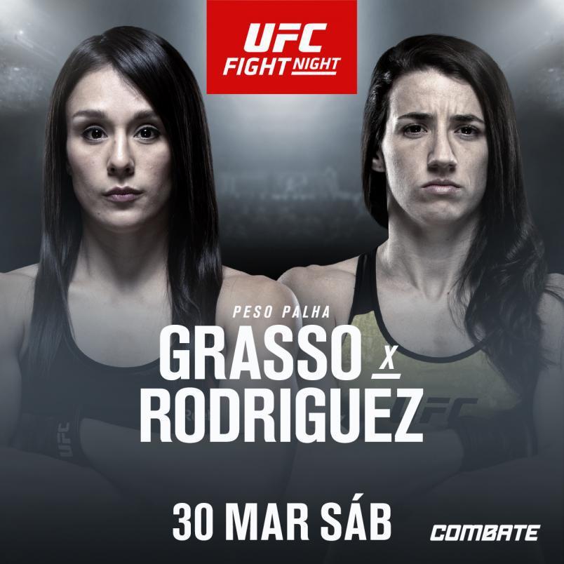 MARINA RODRIGUEZ ENFRENTA ALEXA GRASSO NO UFC FILADÉLFIA