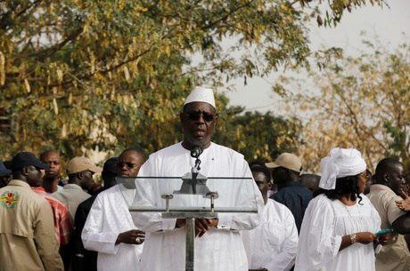 Senegal: apoiadores de...