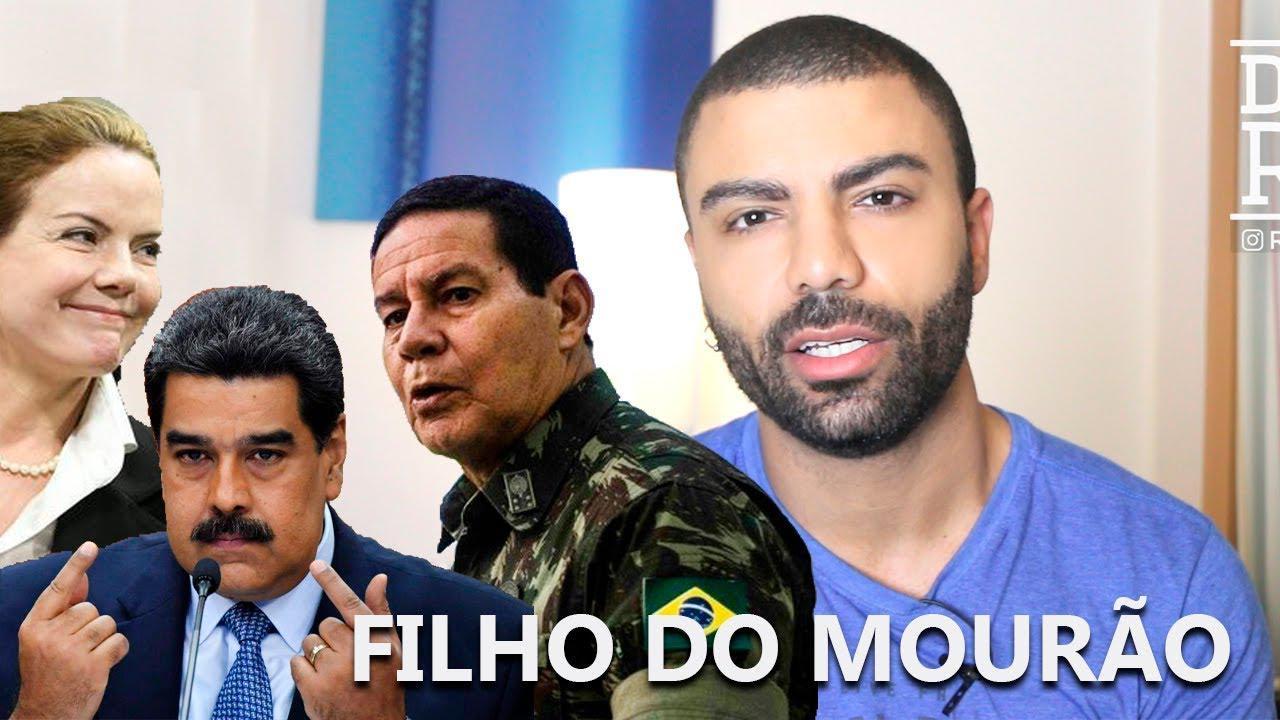 FILHO DO MOURÃO/ GLEISI NA POSSE DO MADURO
